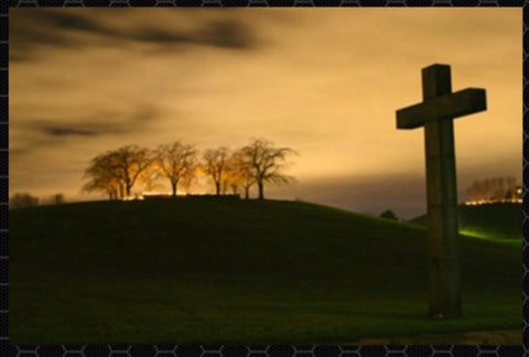 A Cross At Sunset!