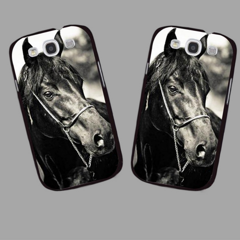 Black Horse iPhone Case!