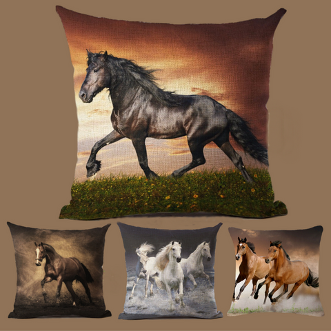Oh So Pretty...Assorted Horse Decorative Pillows!