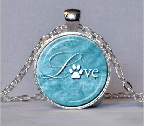 Love Paw Print Necklace FREE! (Just Pay Shipping)
