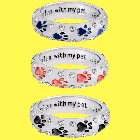 Awesome Hand Stamped Paw Ring FREE! (Just Pay Shipping)