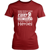 I Fight For Animal Rights Tee Shirt!