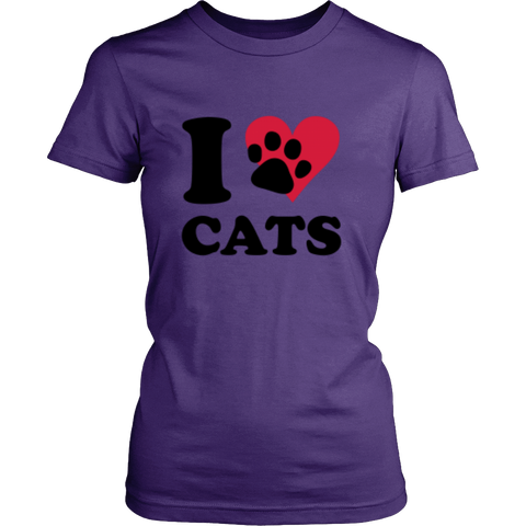 I love Cats T-Shirt!