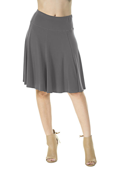 Gored Skirt (Plus Size)