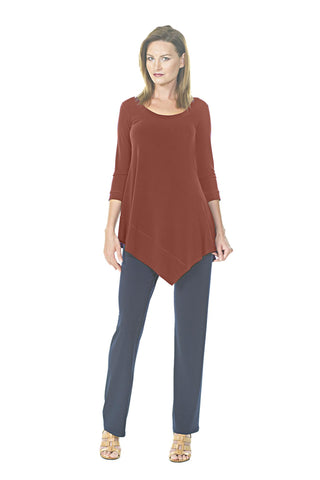 Asymmetric Tunic (Plus Size)