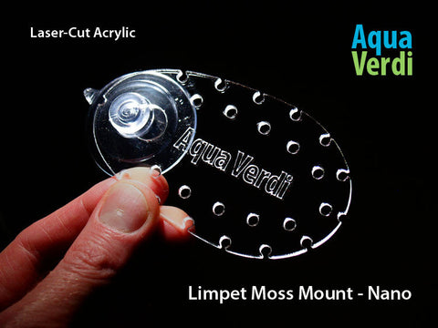 Limpet Moss Mount  – Nano 2-pack