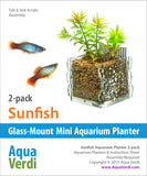 Sunfish Aquarium Planter 2-pack