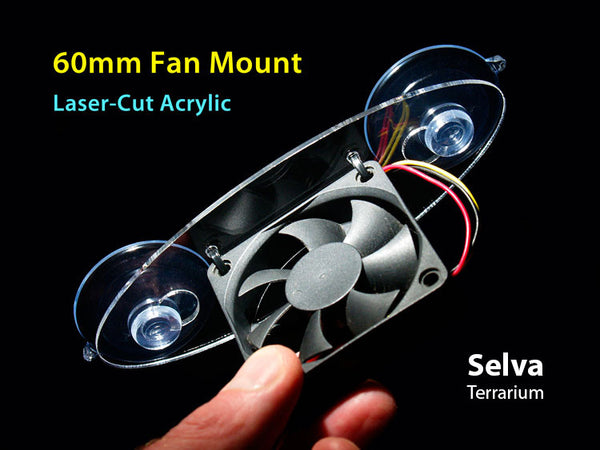 60mm Fan Mount Kit (Selva Terrarium)