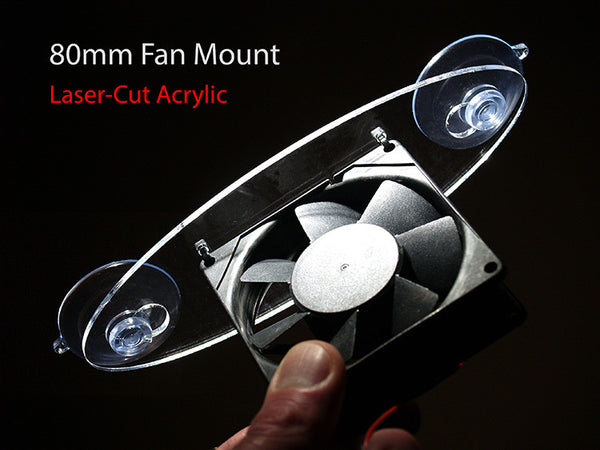 80mm Fan Mount Kit (Selva Terrarium)