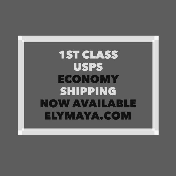 1st. Class USPS Economy Shipping Available