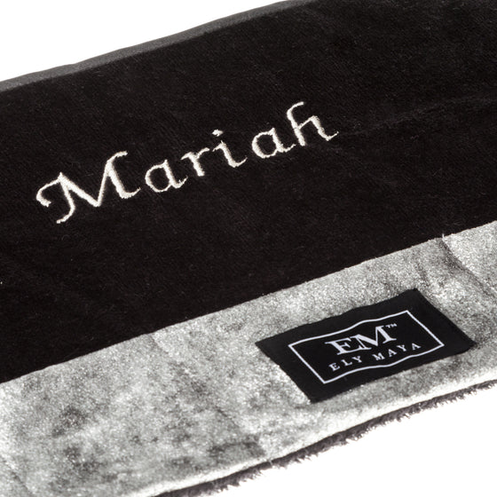 Personalize Your Vanity Mat With Embroidery (Embroidery Only-Mat Not Included) - Ely Maya