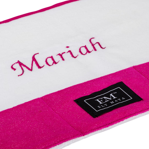 Personalize Your Vanity Mat With Embroidery - Ely Maya