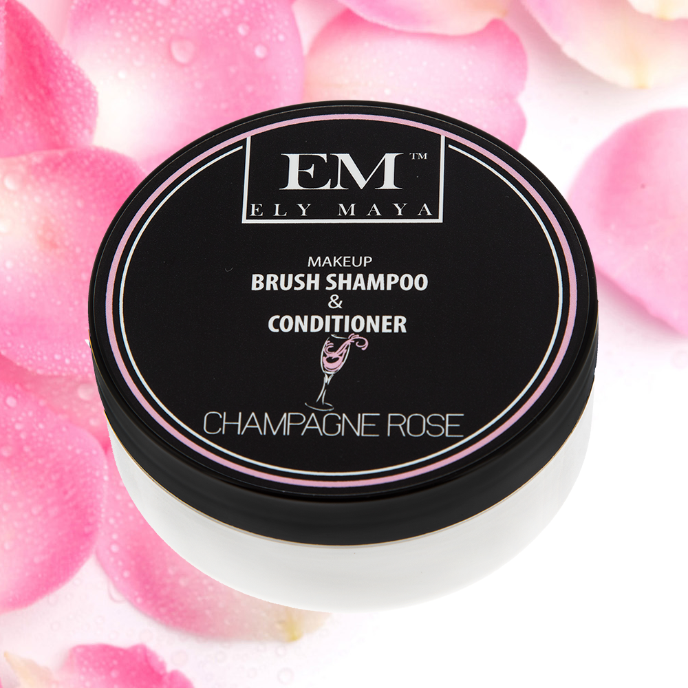 Brush Shampoo & Conditioner in Champagne Rose 1oz. (2oz. Tubs Shortage)