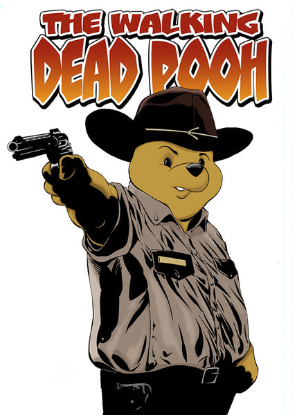 """The Walking Dead Pooh"" (Grimes)"