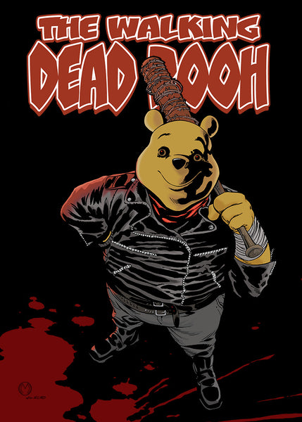 """The Walking Dead Pooh"" (Negan)"