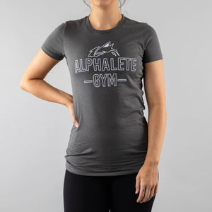 Women's Outline Tee - Grey
