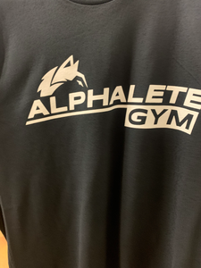 Black Alphalete Gym T-Shirt