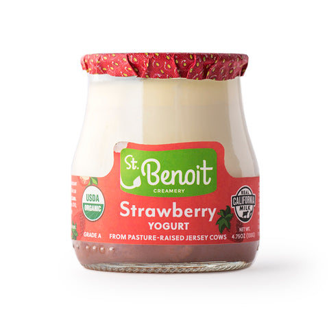 SBC Strawberry Yogurt 4.75 oz