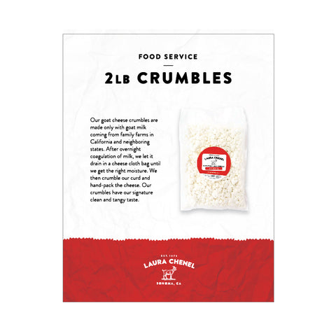 LC FS Goat Cheese Crumbles Sell Sheet