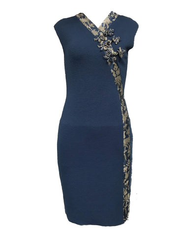 Style: M310KD55NEP,  Asian Inspired Knit Dress
