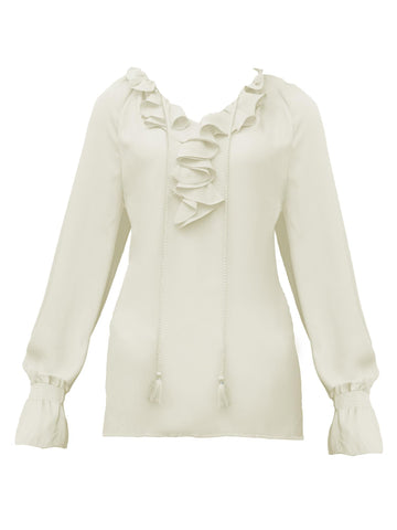 Style: M315BL15IVO,  Calypso Synthetic  Georgette Blouse