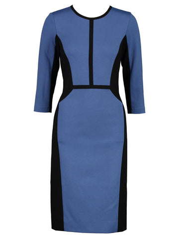 Style: M320DR13FRO,  Viscose Double Knit Dress