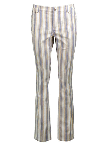 Style: M320PT27CHA,  Gold Denim Stripe Cathy Pant