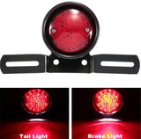 CAFE RACER UNIVERSAL MOTORBIKE REAR LICENSE PLATE HOLDER & SPOT BRAKE TAIL LIGHT, Other Lighting & Indicators - Cafe Racer Parts UK