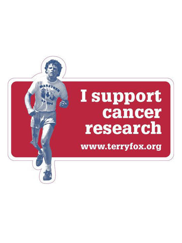 Terry Fox Car Magnet