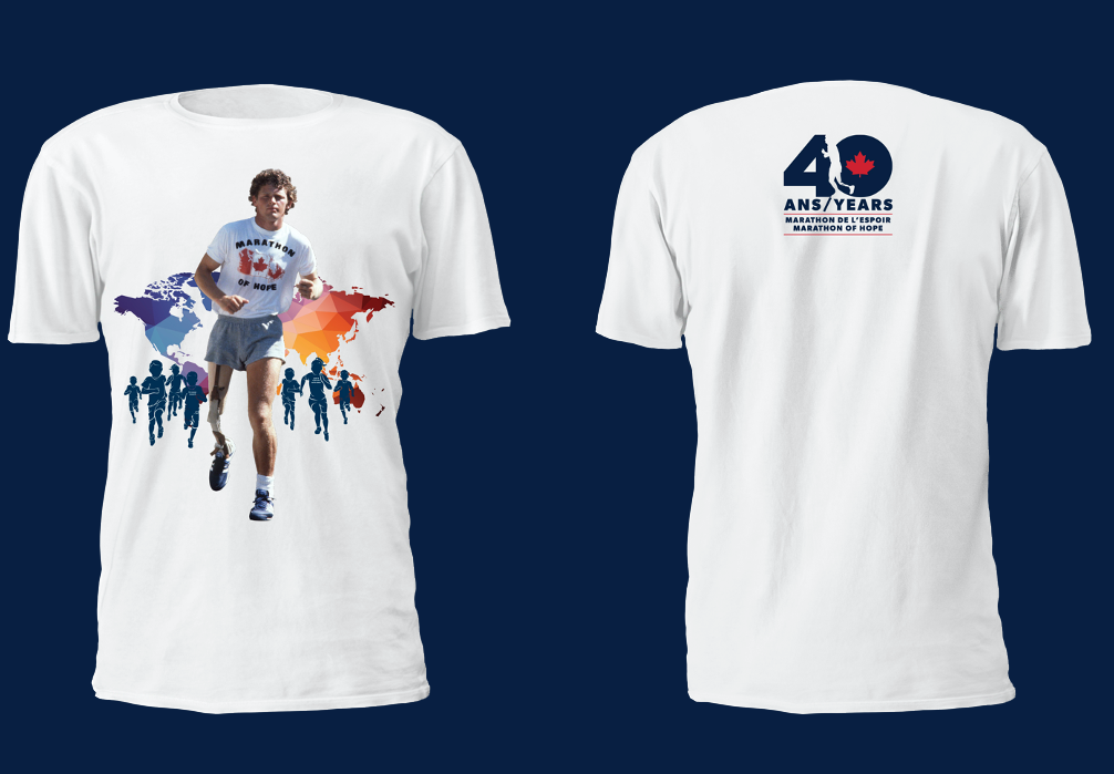 2020 Men's Dry-Fit Terry Fox T-Shirt