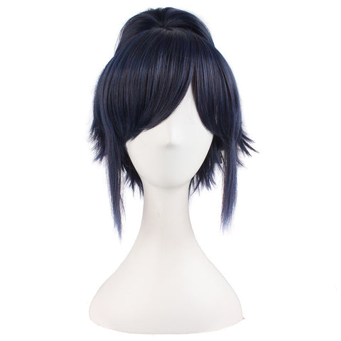 Cosplay Wig Short Straight Single Ponytail