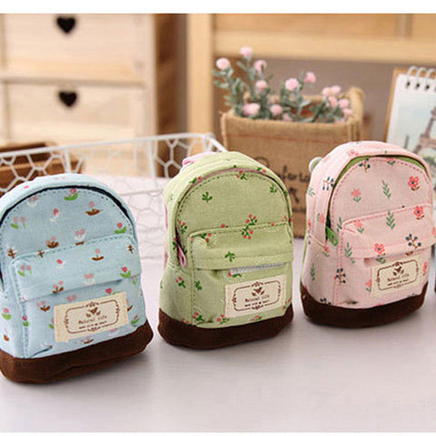 Kawaii Mini School Bag Purse