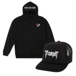 Rocker Hat & Wings Hoodie Bundle
