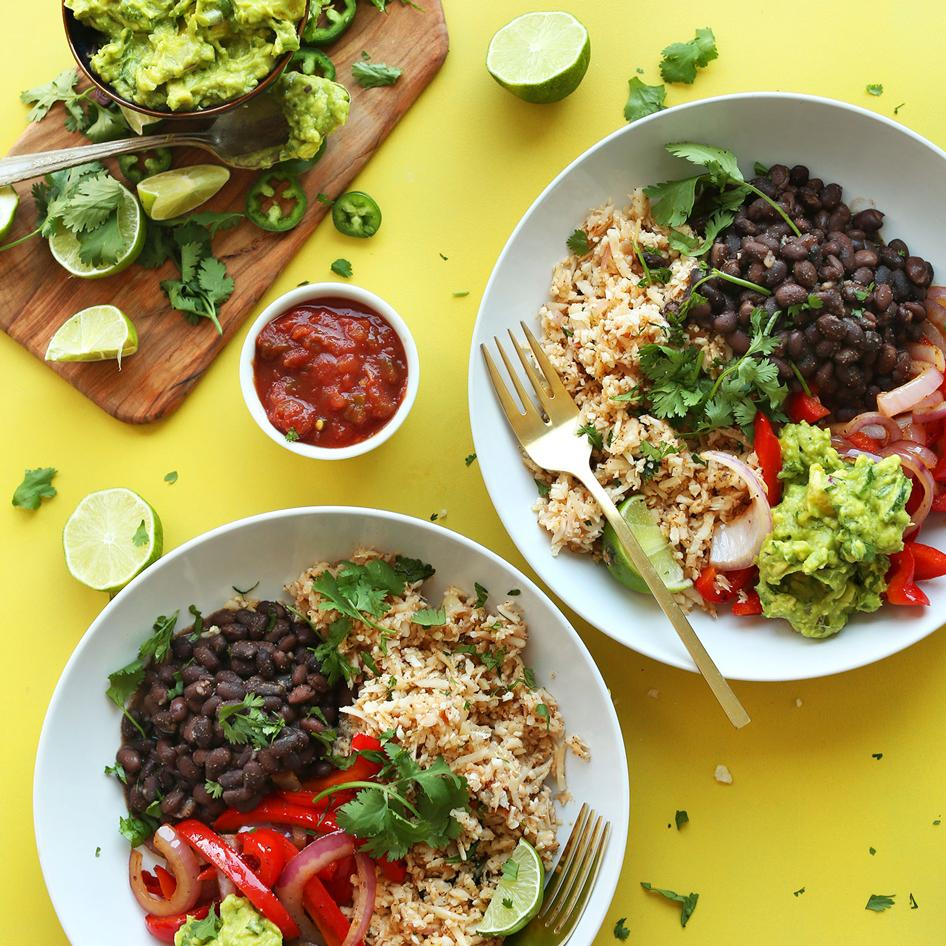 Chicken, Rice & Beans Bowl/Taco