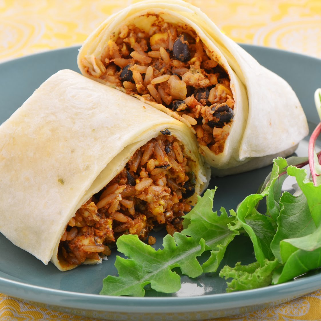 Rice & Bean Burrito