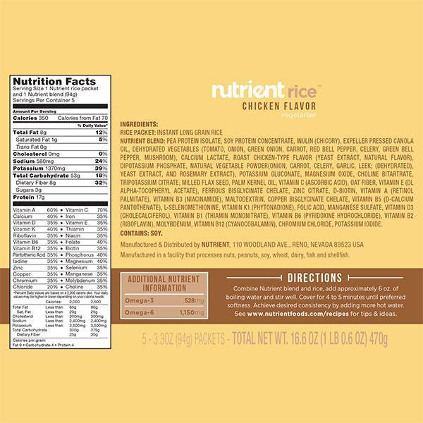 Nutrient Rice 5-pack-Bold-Nutrient-Beans and Rice-Nutrient