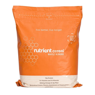 Nutrient Cereal Bag-Bold-Nutrient-Maple Almond-Nutrient