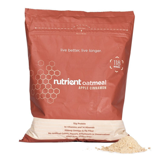 Nutrient Oatmeal Bag-Bold-Nutrient-Apple Cinnamon-Nutrient