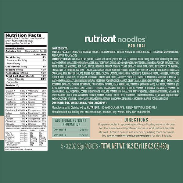 Nutrient Noodle 5-pack-Bold-Nutrient-Cheese-Nutrient