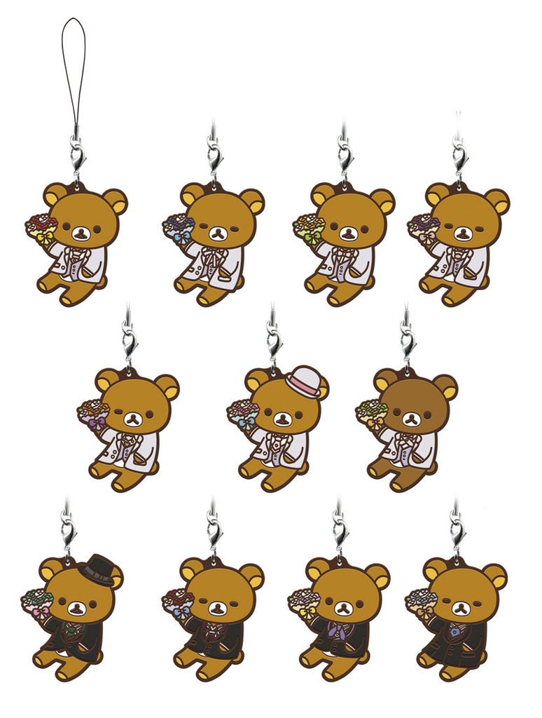 Uta No Prince Sama Meets Rilakkuma ~ Happy for you Ichiban Kuji Rubber Straps