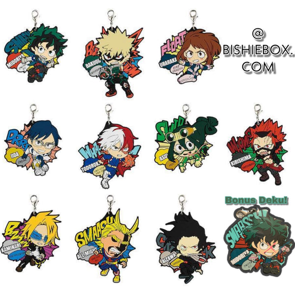 Hero Academia: FIGHTING HEROES feat. SMASH RISING Rubber Straps