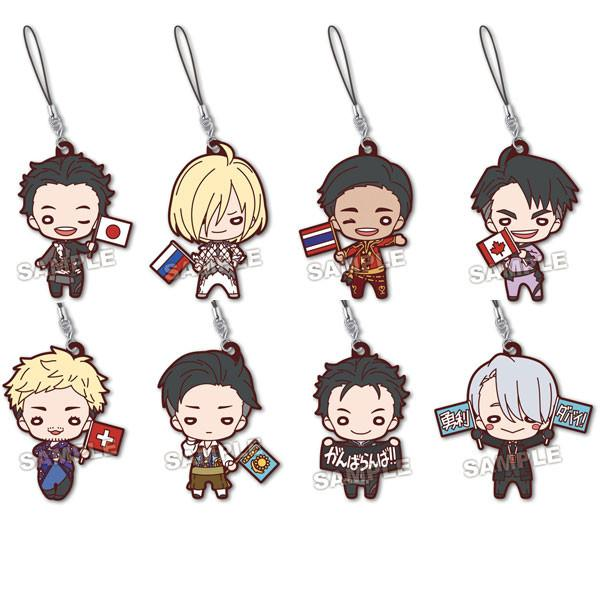 Yuri on Ice: Nitotan Vol.2 SP Rubber Straps