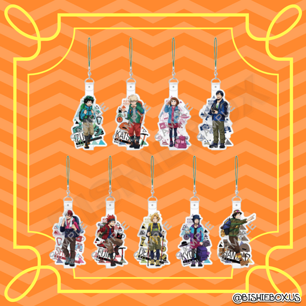 Hero Academia: Hiking Vinyl Straps