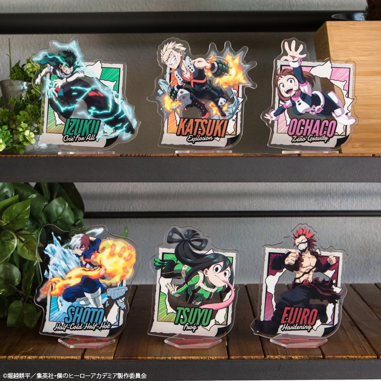Hero Academia: Boy Meets... Kuji Acrylic Stands