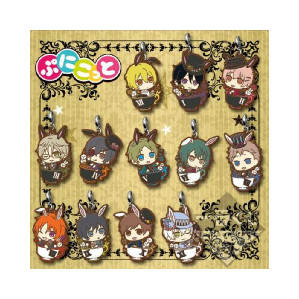 Tsukiuta: Rabbits Kingdom Rubber Straps