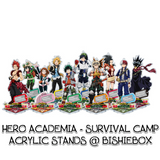 Hero Academia: Survival Acrylic Stands