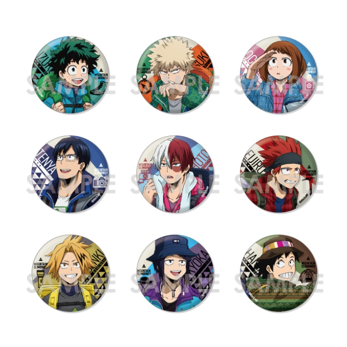 Hero Academia: Hiking Can Badge