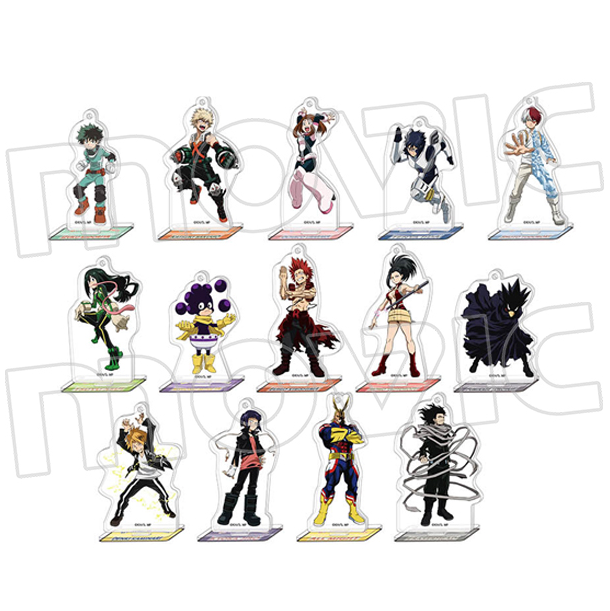 Hero Academia: Vol.1 Acrylic Stands