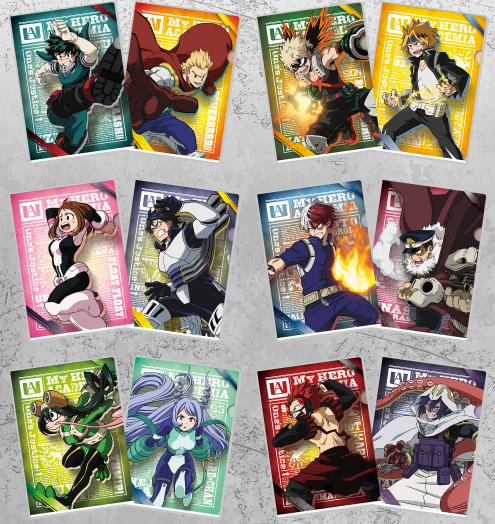 Hero Academia: Fighting Heroes feat. One's Justice CLEARFILES SETS