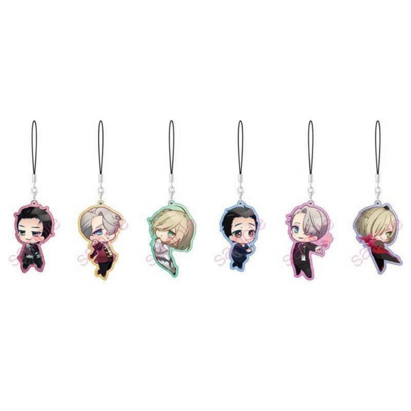 Yuri on Ice: Pearl Acrylic Charms